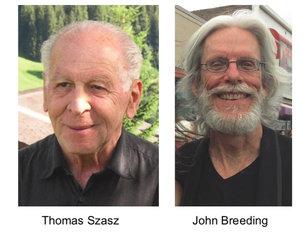 Thomas Szasz and John Breeding side by side